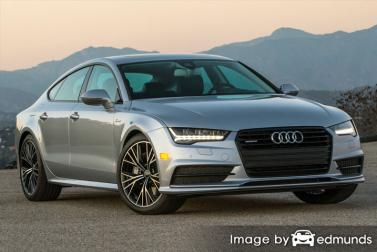 Insurance quote for Audi A7 in Memphis