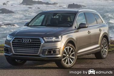 Insurance quote for Audi Q7 in Memphis