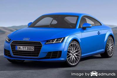 Insurance quote for Audi TTS in Memphis