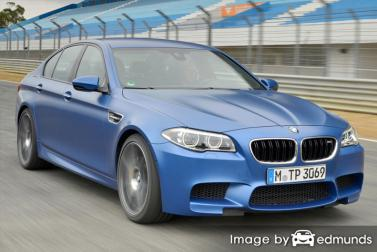 Insurance rates BMW M5 in Memphis