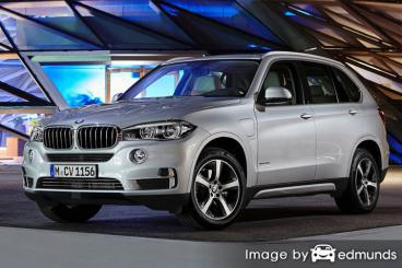 Insurance rates BMW X5 eDrive in Memphis