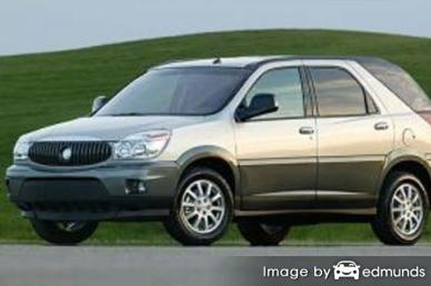 Insurance rates Buick Rendezvous in Memphis