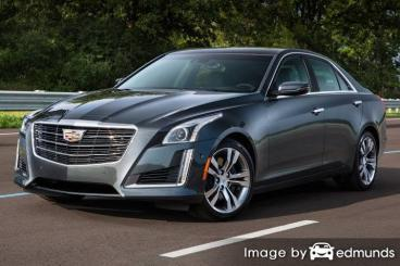 Insurance rates Cadillac CTS in Memphis