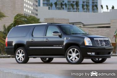 Insurance quote for Cadillac Escalade ESV in Memphis