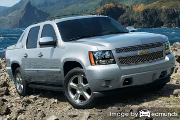 Insurance rates Chevy Avalanche in Memphis
