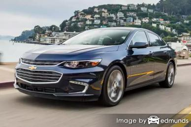 Insurance rates Chevy Malibu in Memphis