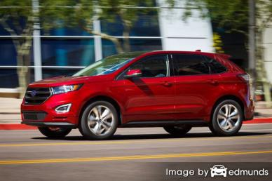 Insurance rates Ford Edge in Memphis
