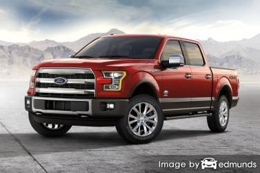 Insurance quote for Ford F-150 in Memphis