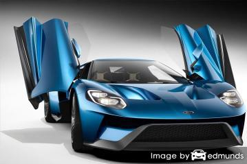 Insurance rates Ford GT in Memphis