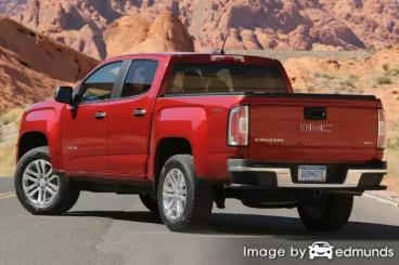 Insurance quote for GMC Canyon in Memphis