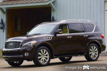 Insurance quote for Infiniti QX56 in Memphis