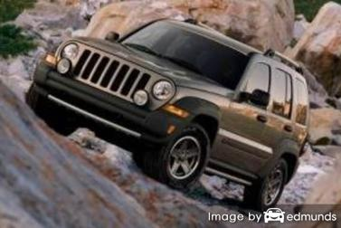 Insurance rates Jeep Liberty in Memphis