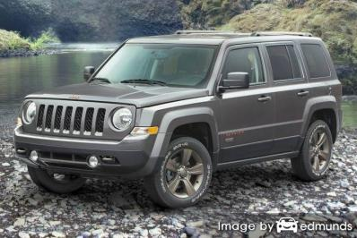 Discount Jeep Patriot insurance
