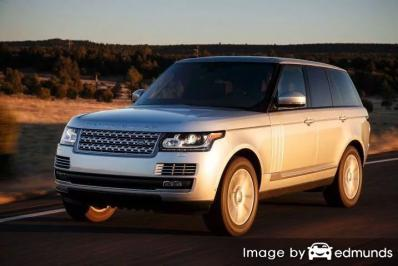 Discount Land Rover Range Rover insurance