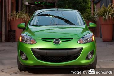 Insurance quote for Mazda 2 in Memphis