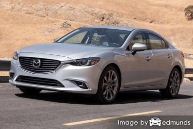 Insurance rates Mazda 6 in Memphis