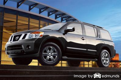 Insurance quote for Nissan Armada in Memphis