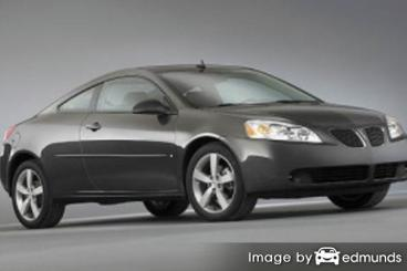 Insurance quote for Pontiac G6 in Memphis