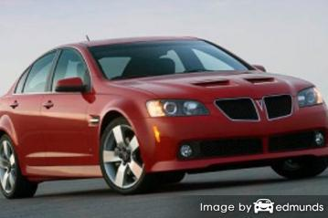 Insurance for Pontiac G8