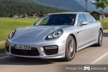 Insurance quote for Porsche Panamera in Memphis