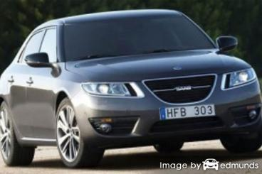 Insurance rates Saab 9-5 in Memphis