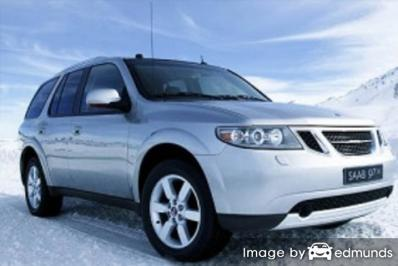Insurance rates Saab 9-7X in Memphis