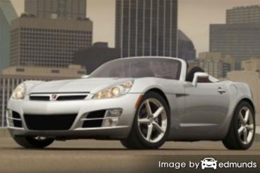 Insurance quote for Saturn Sky in Memphis