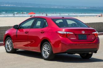Insurance quote for Toyota Corolla in Memphis