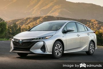 Insurance quote for Toyota Prius Prime in Memphis