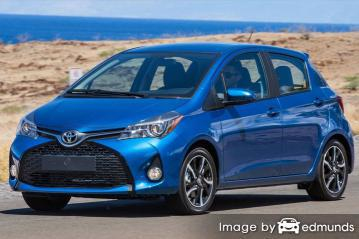 Insurance quote for Toyota Yaris in Memphis