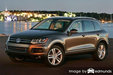 Insurance rates Volkswagen Touareg in Memphis