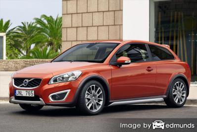 Insurance rates Volvo C30 in Memphis